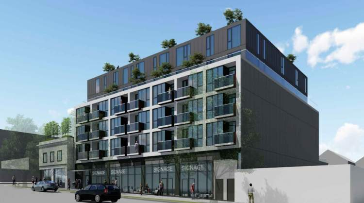 Coming soon to the Broadway Corridor in Mount Pleasant, 64 presale condos.