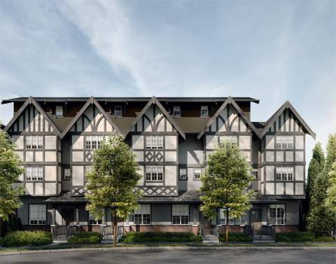 Coming Soon To Richmond Brighouse From Alabaster Homes, Elegant Tudor-style Townhomes.