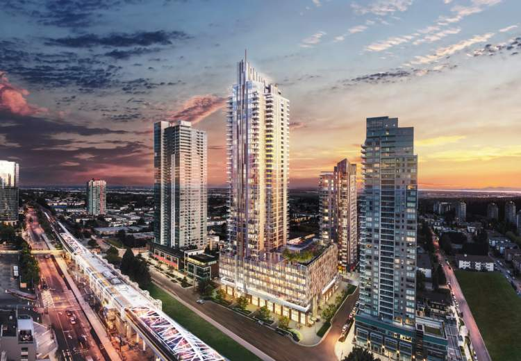 In the heart of Metrotown, Sun Towers is a beacon of cosmopolitan sophistication.