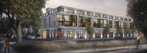 Kenstone Properties Is Proposing This Mixed-use Development For Kerrisdale That Includes Presale Condos And Townhomes.