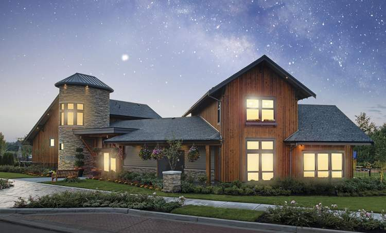 A 9,000 square-foot resort-style clubhouse just for residents.