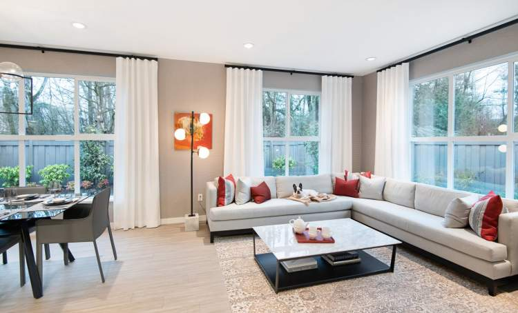 The homes at Elmstone come in a variety of floorplans, and range from approximately 600 square feet to 1,145 square feet.