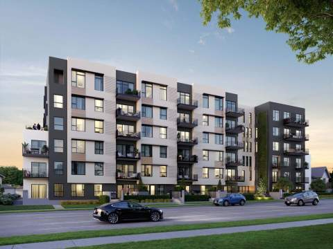 Popolo By Epix Developments Is A 6-storey, 81-unit Multi-family Building Located On East Broaday.