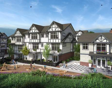 An Elite Collection Of 3- & 4-bedroom Tudor-style Townhomes Are Nestled Adjacent To Cougar Creek.