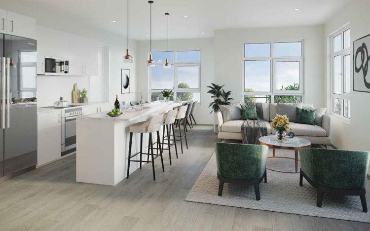 Oversize patios, granite counters, stainless steel appliances, and gorgeous laminate flooring come standard.