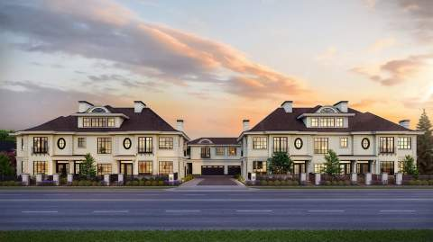 MANOIR Is A Collection Of 12 Duplex And Triplex Townhomes Located In A Tranquil Neighbourhood In West Richmond.