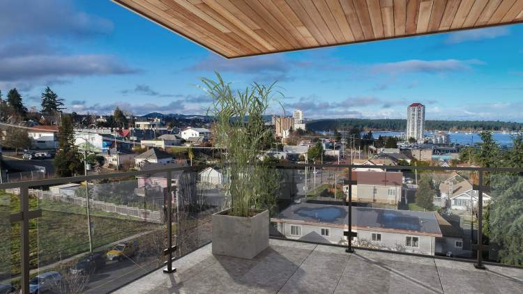 Many homes at The Outlook offer harbour views.
