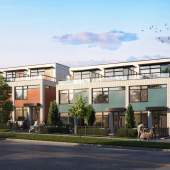 A collection of 30 modern, 3-bedroom townhomes on Vancouver's Westside.