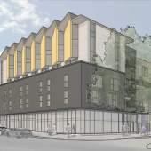 Affordable 1-, 2-, 3-bedroom homes designed by Human Studio coming to Grandview-Woodland at Charles & Nanaimo.