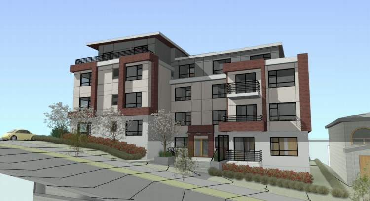 27 condos proposed for Nanaimo Street & Galt Street designed by Matthew Cheng.