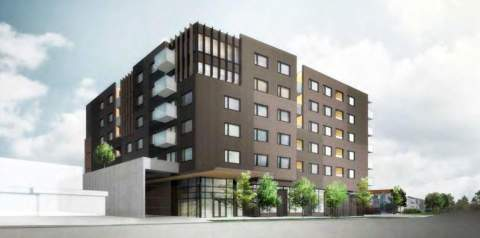 Mixed-use Development With Family-oriented Condos Designed By Yamamoto Architecture For Onni Group Proposed For East Vancouver.