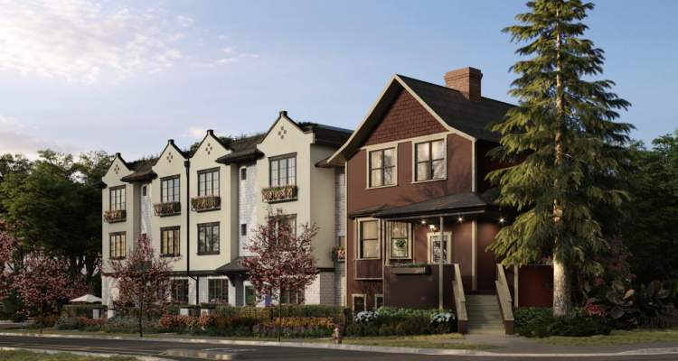 A distinctive family residence built in 1906 converted into two townhomes and four infill townhomes in Vancouver's cherished Kitsilano neighbourhood.