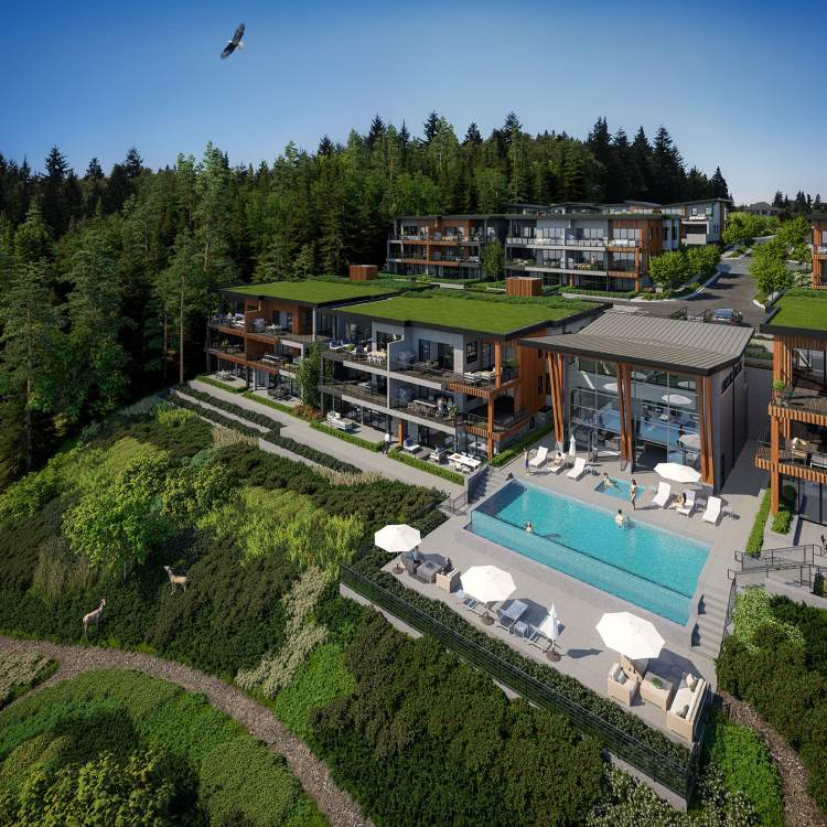Spectacular outdoor pool and hot tub for enjoying the long West Coast summers.