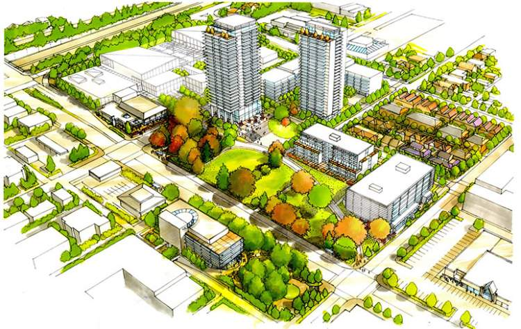 Coming soon from Darwin Construction, a mixed-use development in North Vancouver providing approximately 800 new homes.