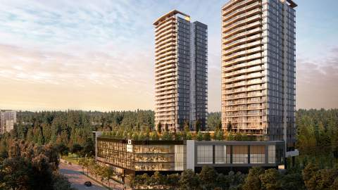 A 6-acre, 1.1-million-sq-ft, Master-planned, Urban Mixed-use Community In Coquitlam.