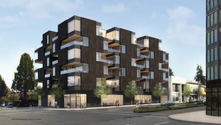 This will be Vancouver's first concrete high-performance mixed-use building that sets a precedent for architectural excellence in the revitalized Cambie Corridor.
