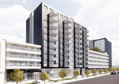 New Mixed-used Development Proposed For Harvey's Furniture Site At Kingsway & Earles.