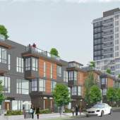 Artist rendering of Cressey Development Group's upcoming project on the former Rona site on Kingsway at Dumfries..