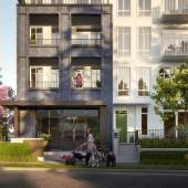 Coming soon to Surrey City Centre, 201 condominiums and 17 townhouses by Mosaic Homes.