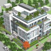 New Oakridge condominium proposed for Vancouver's Cambie Corridor.