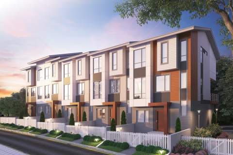 New 2- And 3-bedroom Townhomes With Rooftop Decks In South Surrey Selling Now!