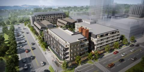 Artist Rendering Of ERA Phase 1 As Seen From The Southwest.