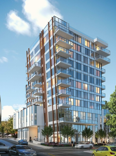 Apartment Residences By Solterra At The Corner Of Fir Street And West 7th Avenue.