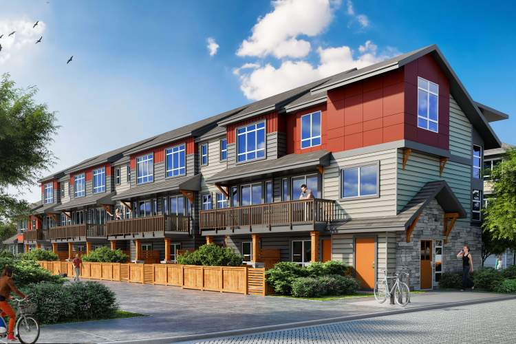 Wembley is a new master-planned community in Richmond of 109 deluxe townhomes.
