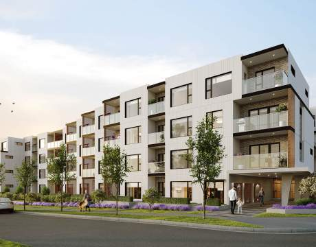 A Collection Of Modern Condominiums In The Heart Of Port Coquitlam.