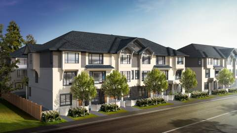 An Upscale Collection Of 2- And 3-bedroom Langley City Townhomes Selling Now.
