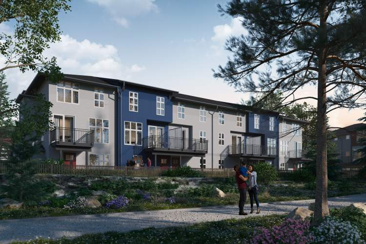 Creekside is a master-planned community of 130 townhomes on the banks of Siegel Creek in Maple Ridge.