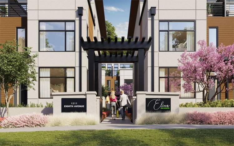 3-bedroom townhouses by Canada West Development starting at $749,900.