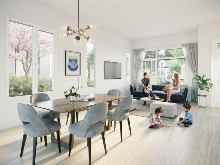 Elina features 2- and 3-bedroom open and functional floor plans, situated within walking distance of all necessities.