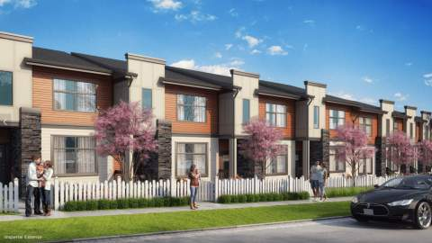 4-bedroom Townhomes With Up To 2,500 Sq Ft Of Living Space From $750,000.