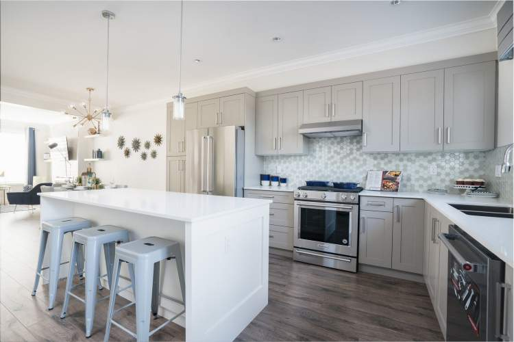 All homes include spacious kitchen islands with bar-style seating to support you during your culinary efforts and memorable family gatherings.