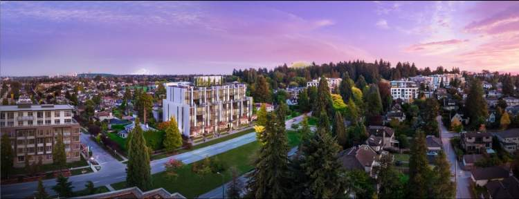 A new West Side condominium and townhome development located on Cambie Street.