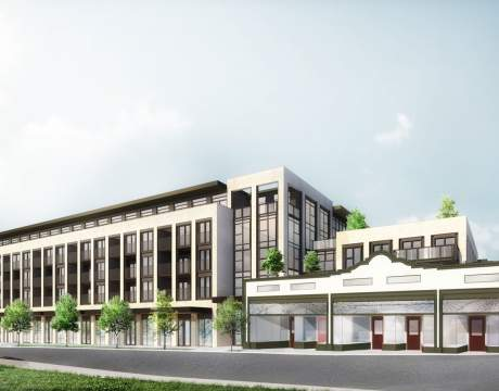 New Mixed-use Development Proposed For The 6100 Block Of West Boulevard In Kerrisdale Designed By Yamamoto Architecture.