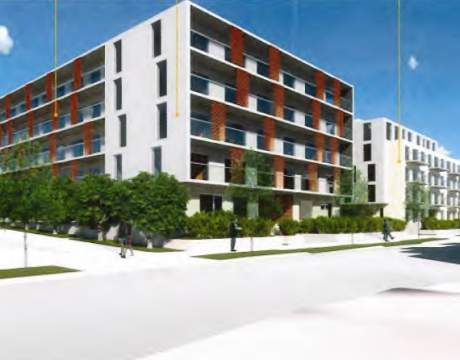 Proposed Mixed-used Development For Richmond's West Cambie Neighbourhood Designed By GBL Architects.