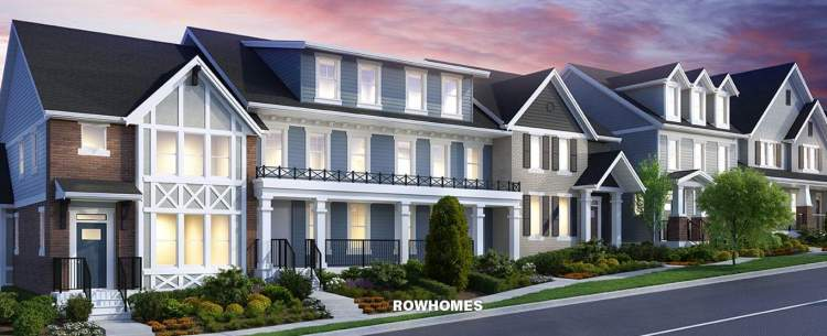 Latimer Row town homes
