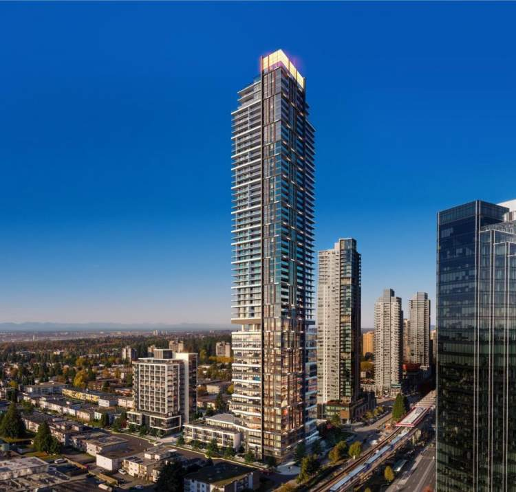 Coming soon to Metrotown. 53 storeys of elevated living.