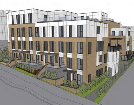 New Passive House Townhomes Slated For East 7th Avenue And Clark, Near Vancouver Community College.