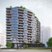 Coming soon to Southeast False Creek, luxurious Italian design waterfront condos and townhomes near Science World.