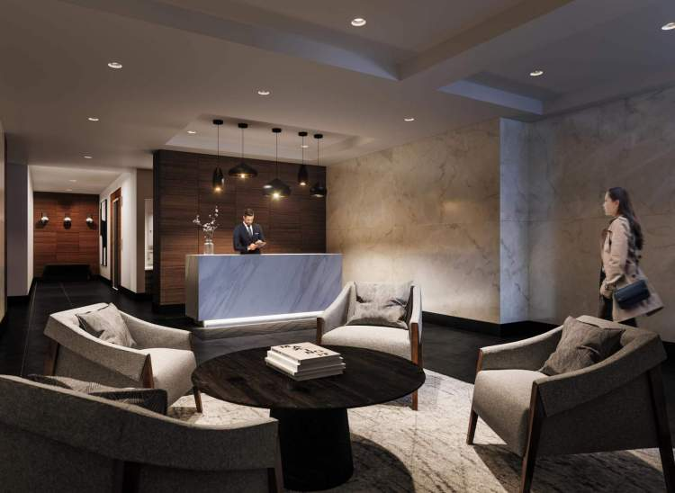 Front-desk concierge service adds convenience and sophistication to each day.