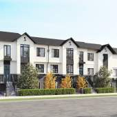 Rendering of new townhouse development - Hillcrest