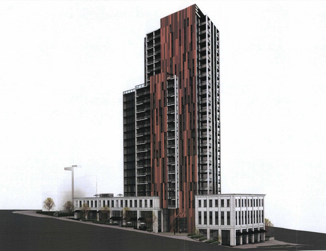 Proposed Maillardville Mixed-use Development Proposed For Lougheed & Blue Mountain In Coquitlam.