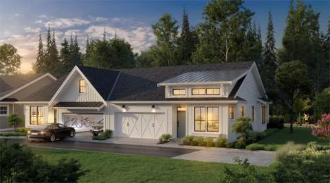 A Boutique Townhouse Site With Modern Farmhouse Design Features Coming To Surrey In Spring 2020.