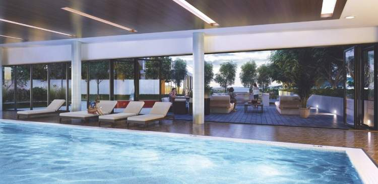 Residents will enjoy the use of a 50' heated indoor pool with sauna and hot tub.