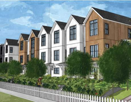 A Collection Of 2- To 4-bedroom Move-in Ready Riverfront Townhomes Coming Soon To Queensborough.