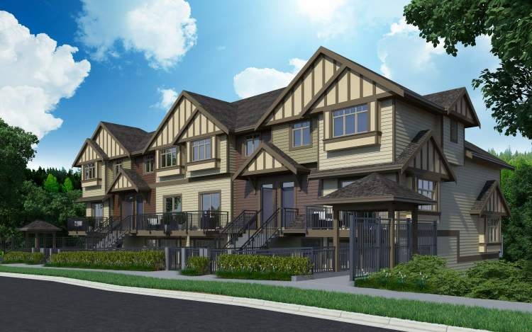 18 thoughtfully designed townhomes with 8 unique layouts in the heart of Burnaby.