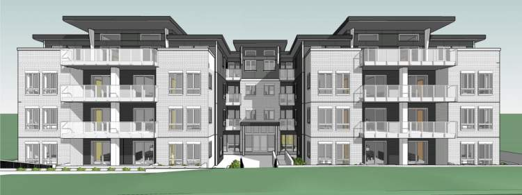 New 4-storey, multi-unit residential building proposed for Slocan & Kingsway.
